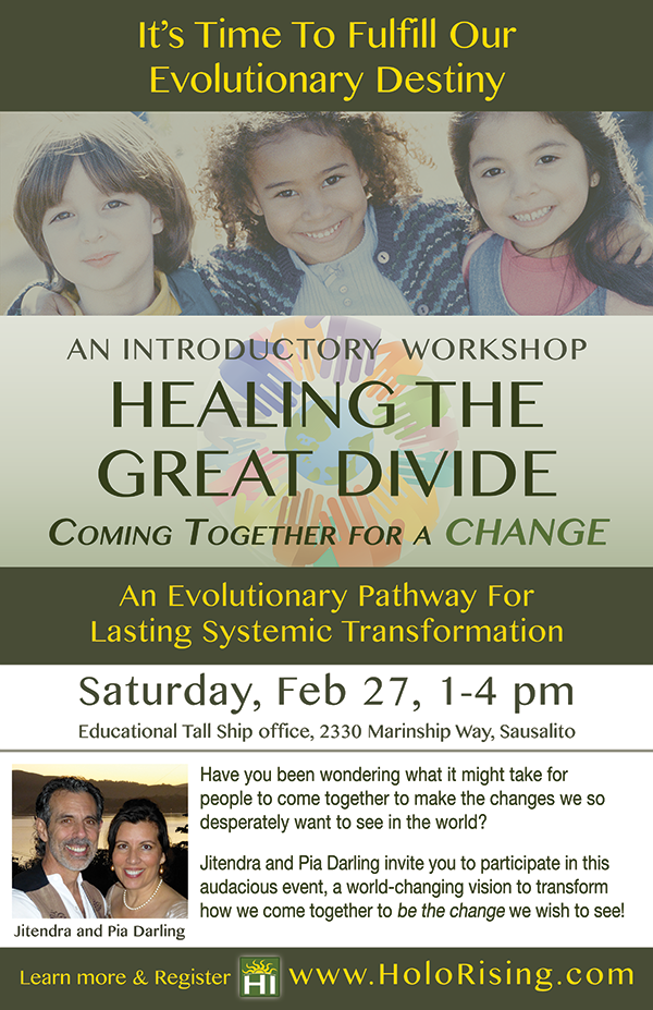 Healing The Great Divide: Coming Together For A Change Poster